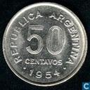 Argentina 50 centavos 1954