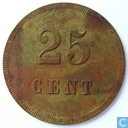 Winkelvereeniging H.U.Z. 25 cent