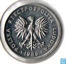 Poland 5 zlotych 1989