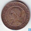 San Marino 5 lire 1936