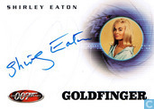 Shirley Eaton in Goldfinger