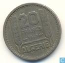 Algérie 20 francs 1949