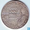 "Autriche 100 schilling 1976 (aigle) ""Bergisel Schanze"""
