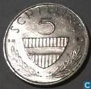 Oostenrijk 5 schilling 1983