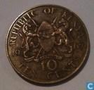 Kenia 10 cents 1967