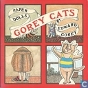 Gorey cats paper dolls