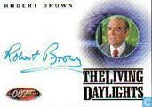 Robert Brown in The living daylights