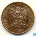 Zuid-Afrika 2 cents 1980