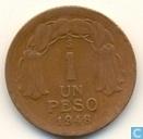 Chili 1 peso 1948
