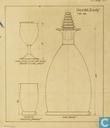 Glas / kristal - Kristalunie - Brandy Likeurkaraf amber