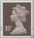 Queen Elizabeth II - Dezimal Machin