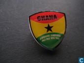 Le Ghana - champion d'Afrique 1963 1965 1978 1982