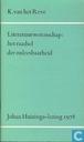 Literatuurwetenschap: het raadsel der onleesbaarheid