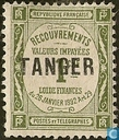 Figure with overprint Tangier