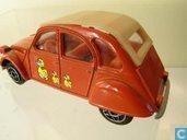 Modelauto's  - Dinky Toys - Citroën 2CV 6