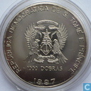 "Sao Tomé en Príncipe 1000 dobras 1997 (PROOF) ""Diana Queen of the Hearts"""