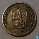 Tsjecho-Slowakije 1 koruna 1975