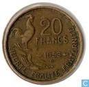 France 20 francs 1953 (B)