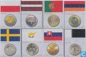Flags and coins
