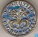 De Gruyter Bloemenzeep [blauw]