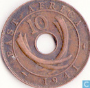 East Africa 10 cents 1941 (without mintmark)