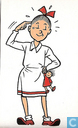 Oudste item - Belgatape - Wiske wijst slim naar haar hoofd
