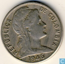 Coins - Colombia - Colombia 1946 5 centavos