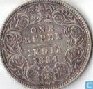 Inde britannique 1 rupee 1884