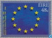 drapeau de l'Union européenne de 20 ans