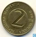 Slovénie 2 tolarja 1998