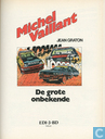 Strips - Michel Vaillant - De grote onbekende