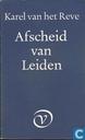 Afscheid van Leiden
