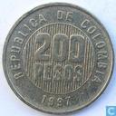 Colombia 200 pesos 1997