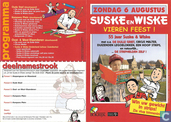 Suske en Wiske vieren feest