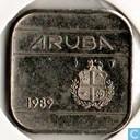 Aruba 50 cents 1989