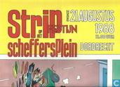 Stripfestijn op het Scheffersplein