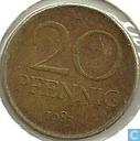 DDR 20 pfennig 1983