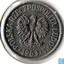 Polen 20 groszy 1963