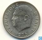 "Haiti 5 centimes 1975 ""F.A.O."""