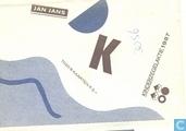 Set kinderpostzegel kaarten 1987