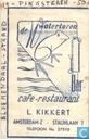 Oudste item - De Watertoren Bar Café Restaurant