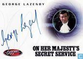 George Lazenby in On her Majesty's secret service