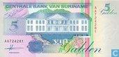 Suriname 5 Gulden 1991