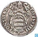 Pape États Testone 1557