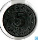 Austria 5 groschen 1965