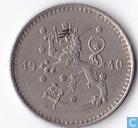 Finland 1 markka 1940 (koper-nikkel)