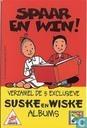 Spaarkaart Topcamera - Suske en Wiske
