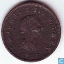 Royaume Uni ½ penny 1807