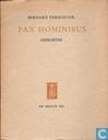 Pax hominibus