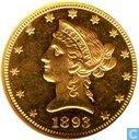 Verenigde Staten 10 dollars 1893
